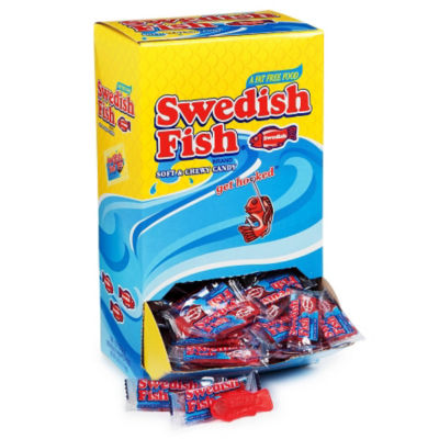 Swedish Fish Individually Wrapped 240 Count
