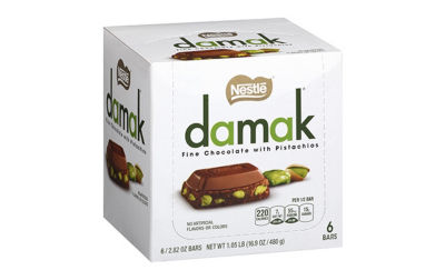 Nestle Damak Fine Chocolate with Pistachios 2.82oz6 Count