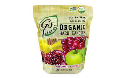 Go Organic Hard Candies 30oz