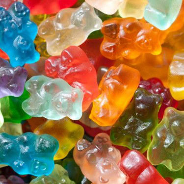 12 Flavor Assorted Gourmet Gummi Bears 1lb