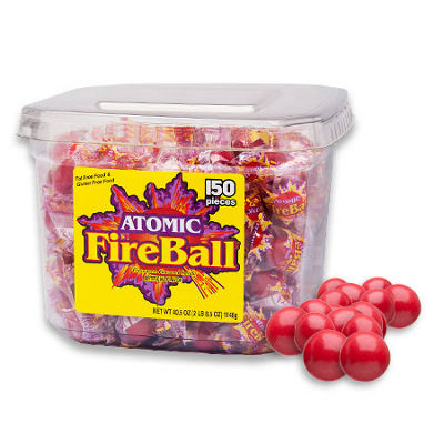 Atomic Fireball Tub 150 Count