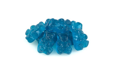 Beary Blue Raspberry Gummi Bears 1lb