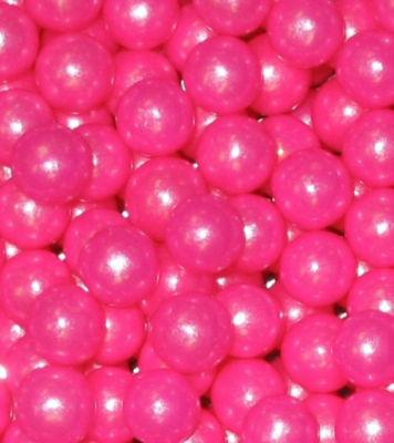 Bright Pink Shimmer Gumballs 2lb