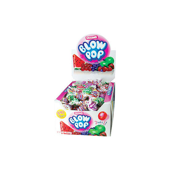 Charms Assorted Blow Pops 100 Count