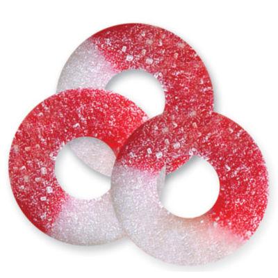 Cherry Gummi Rings 4.5lb