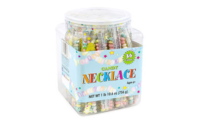 Candy Necklaces Tub 36 Count