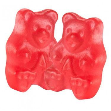 Fresh Strawberry Red Gummi Bears 1lb