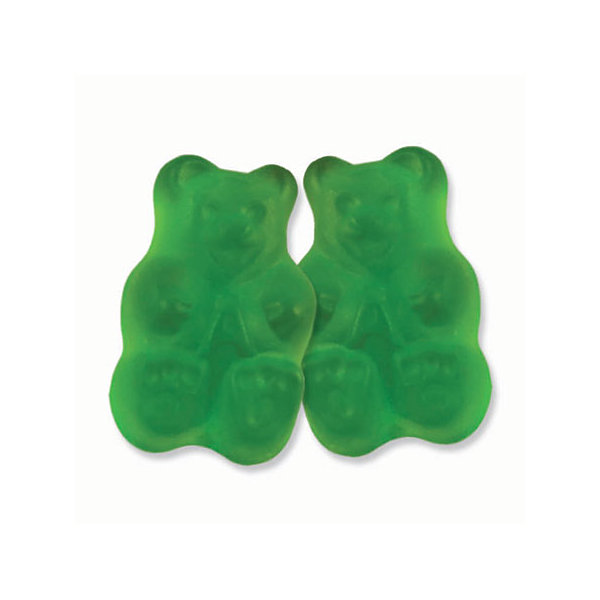Granny Smith Green Apple Gummi Bears 5lb