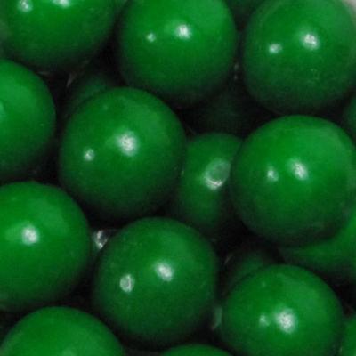"""Green 1"""" Gumballs 2lb"""""""