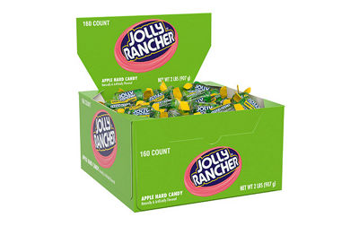 JOLLY RANCHER Hard Candy in Apple Flavor 160 Count