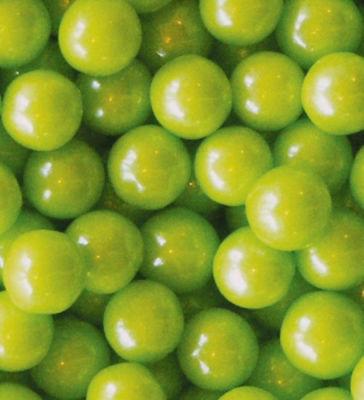 Lime Green Shimmer Gumballs 2lb