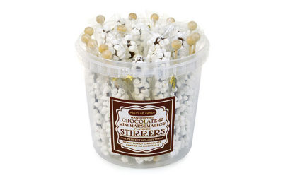 Mini Marshmallow and Milk Chocolate Stirrers 30 Count