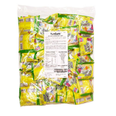 Natural Sour Jelly Bean Snack Packs 50 Count