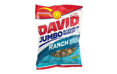 David Jumbo Seeds Ranch 5.25oz 12 Count