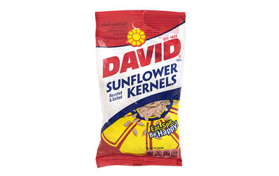 David Kernels Sunflower Kernels 3.75oz 12 Count