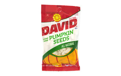 David Pumpkin Seeds 2.25oz 12 Count