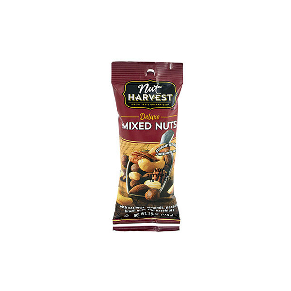 Nut Harvest Deluxe Mixed Nuts 2.75oz 8 Pack