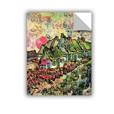 Brushstone Cottages Reminiscent Of North RemovableWall Decal