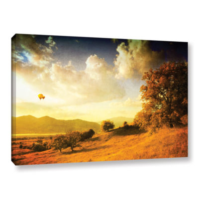 Brushstone Autumn Vision Gallery Wrapped Canvas Wall Art