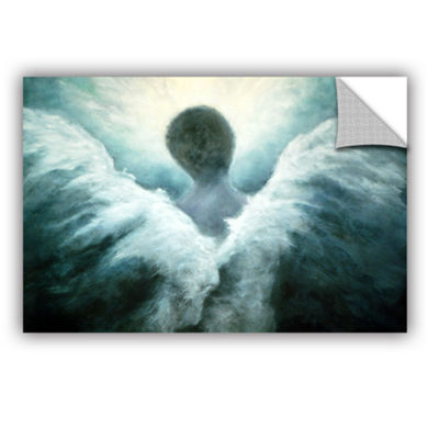 Brushstone Ascending Angel Removable Wall Decal