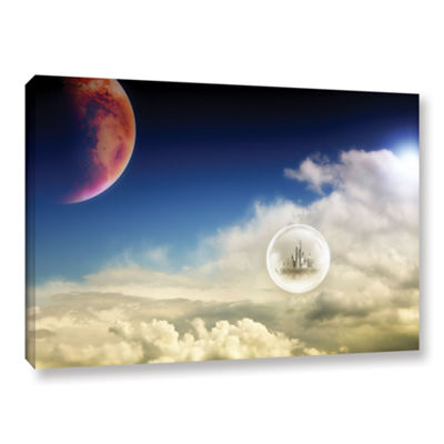 Brushstone Atlantis Gallery Wrapped Canvas Wall Art