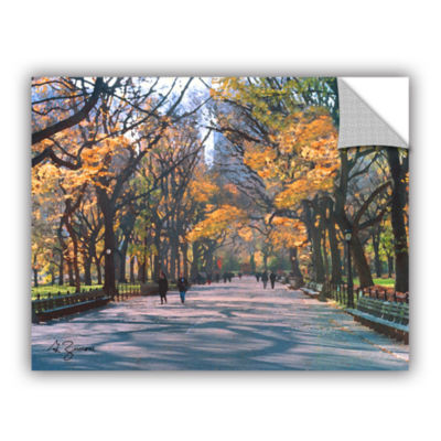 Brushstone Central Park Removable Wall Decal