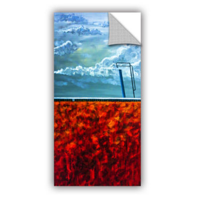 Brushstone Cannonball Gallery Wrapped Floater-Framed Canvas Wall Art