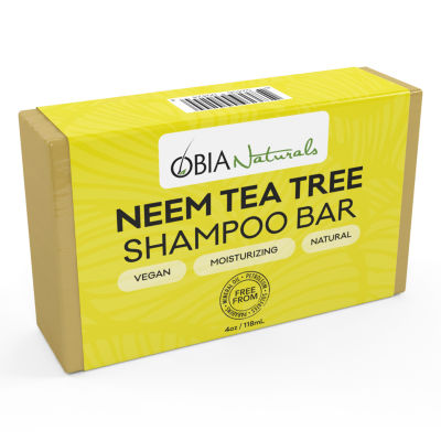 Obia Naturals Neem Tea Tree Shampoo Bar Shampoo - 4 oz.