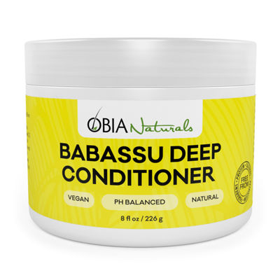 Obia Naturals Babassu Deep Conditioner - 8 oz.