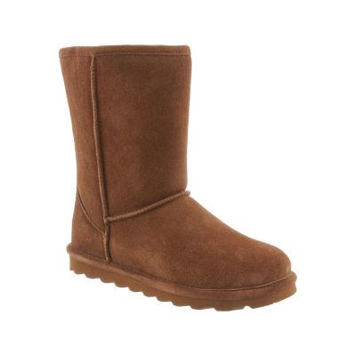 Bearpaw Womens Elle Winter Flat Heel Pull-on Boots