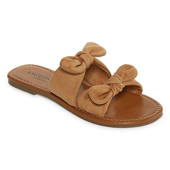 bf394a443e66 Arizona Womens Gill Slide Sandals - JCPenney