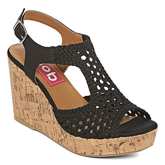481569decbfe Pop Womens Lilly Wedge Sandals - JCPenney