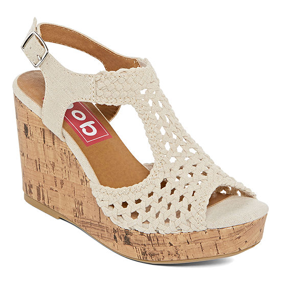 Pop Womens Lilly Wedge Sandals