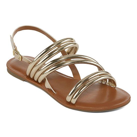Arizona Womens Tulip Flat Sandals