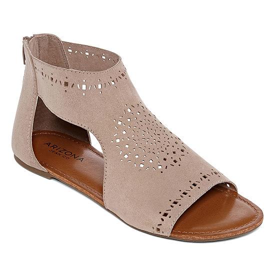 e84fbd75cacdb Arizona Womens Tudor Flat Sandals - JCPenney