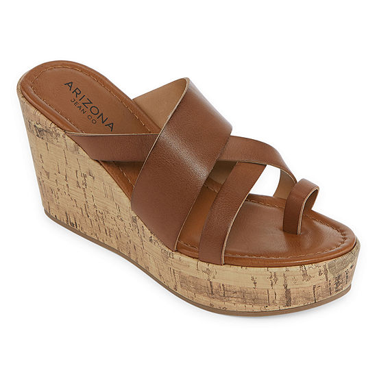 Arizona Womens Bellmont Wedge Sandals