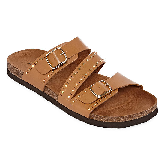 Arizona Perla Womens Footbed Sandals