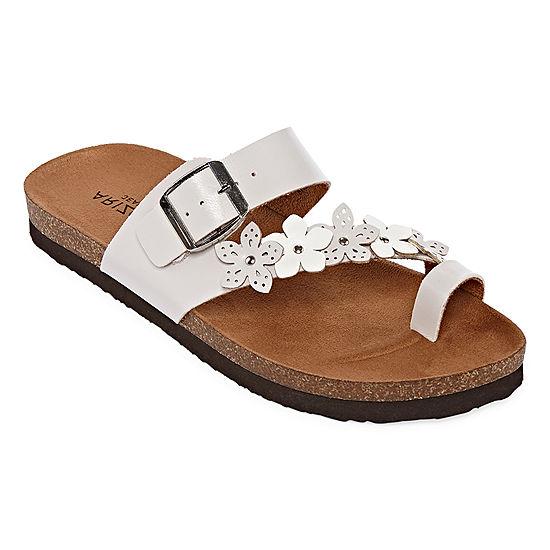 97f82cba0e25 Arizona Sandra Womens Footbed Sandals - JCPenney