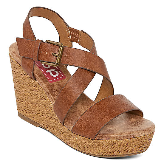 bb2a9a327e332 Pop Womens Muse Wedge Sandals - JCPenney