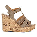Pop Womens Avon Wedge Sandals