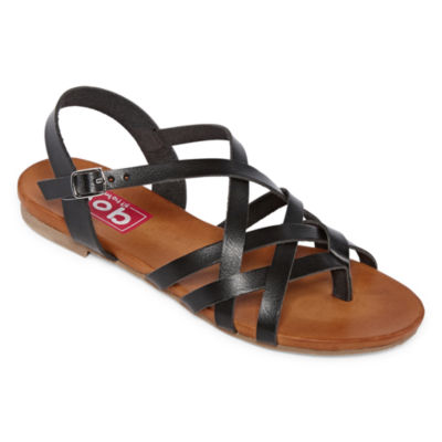 Pop Womens Matisse Adjustable Strap Flat Sandals