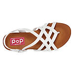 Pop Womens Matisse Adjustable Strap Flat Sandals