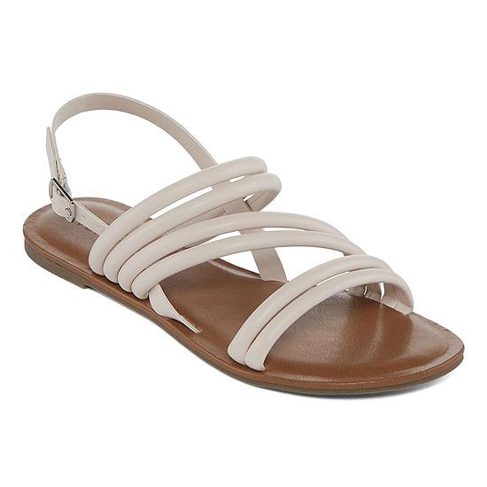 Arizona Womens Tulip Flat Sandals