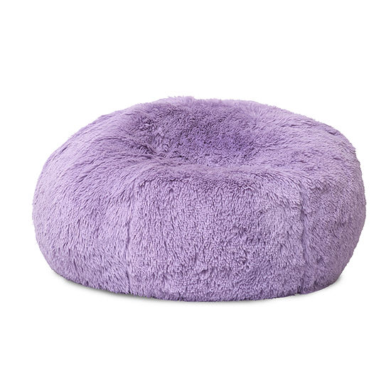 Frank And Lulu Soft Seating Faux Fur Bean Bag Chair