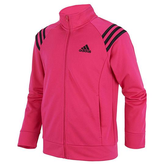 adidas-Big Kid Girls Lightweight Track Jacket