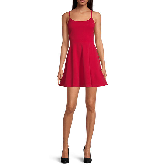 City Triangle-Juniors Sleeveless Bodycon Dress