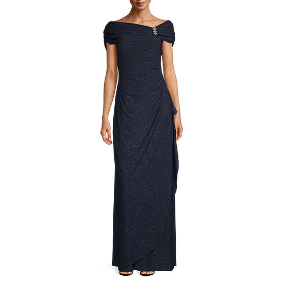 Scarlett Short Sleeve Evening Gown
