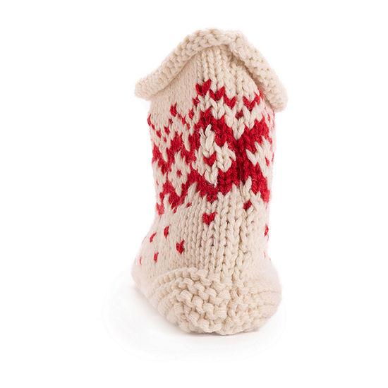Muk Luks Knit Womens Bootie Slippers