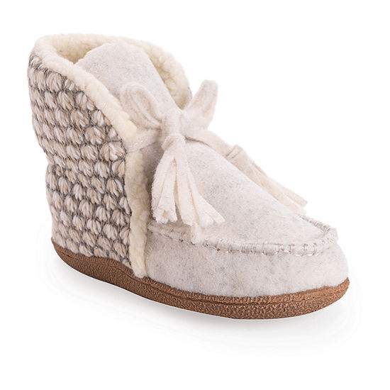 Muk Luks Louanne Womens Bootie Slippers