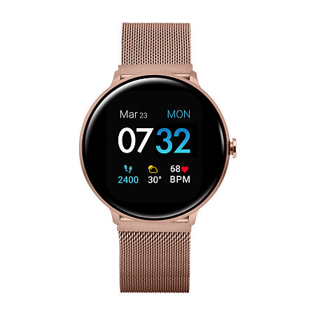 Itouch Sport 2 Unisex Adult Rose Goldtone Stainless Steel Smart Watch-500014r-51-C29, One Size